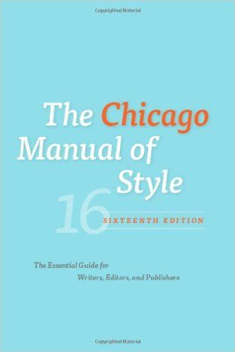 How to write a bibliography chicago manual